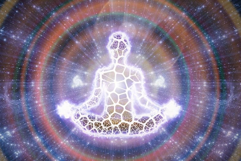 Jedes lebende Ding ob Mensch, Tier, Subjekt, Pflanze und auch die Erde hat rund um sich ein unsichtbares Feld, die Aura.