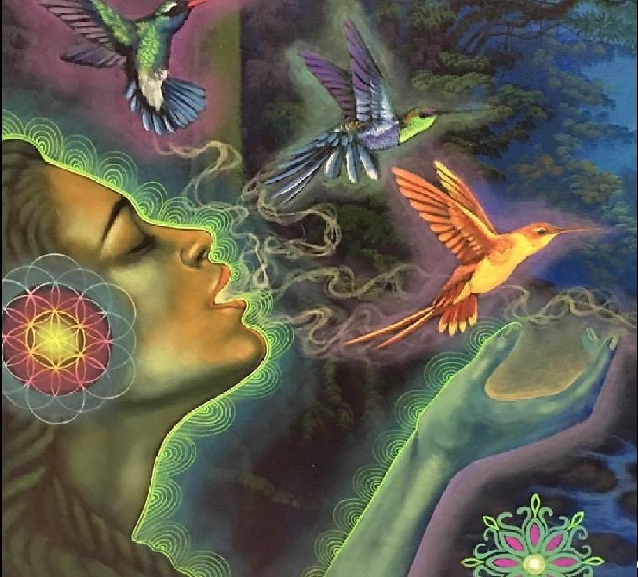 Der Atem ist unsere Verbindung zur Göttlichkeit.