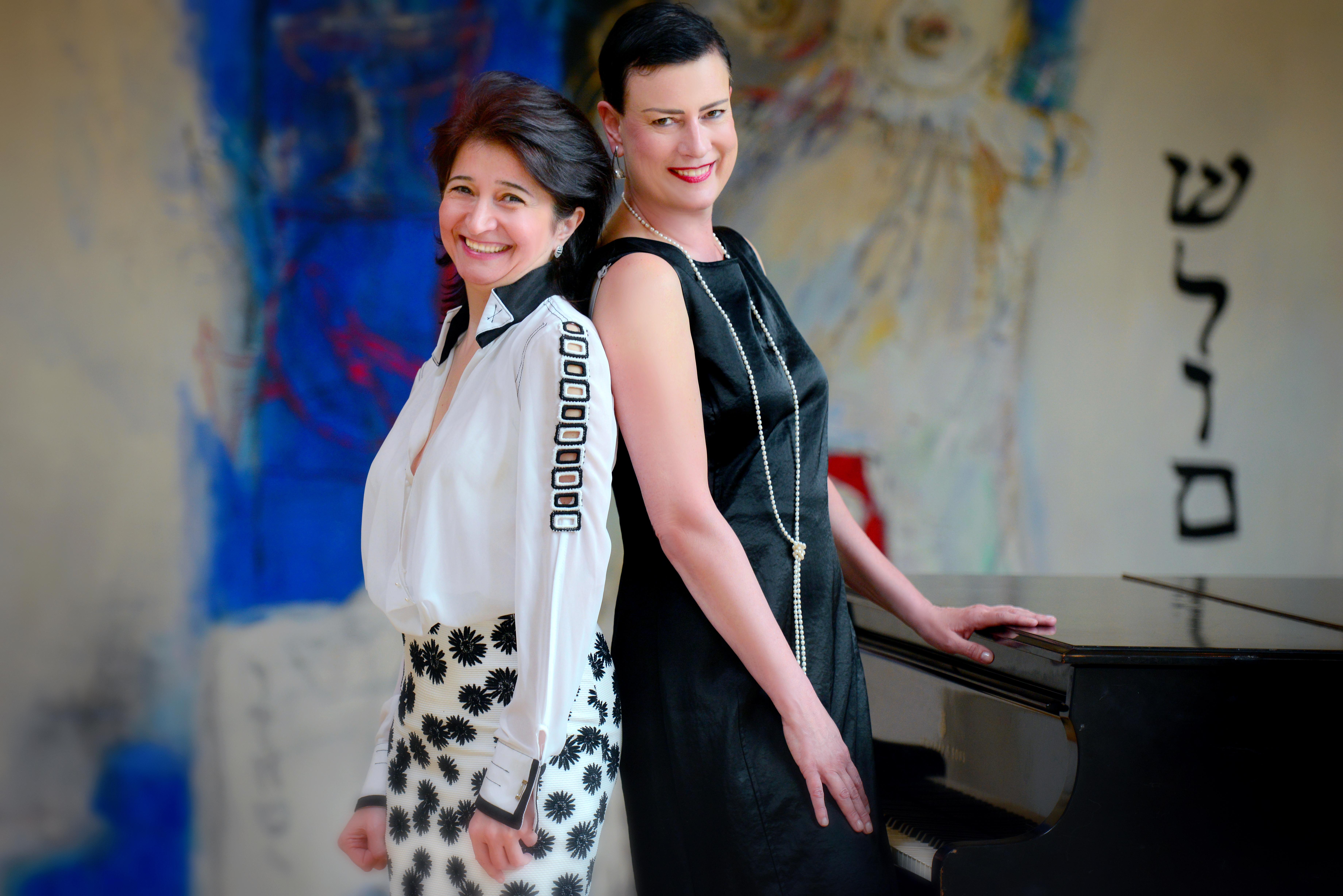 Das Duo Tirzah Haase & Armine Ghuloyan