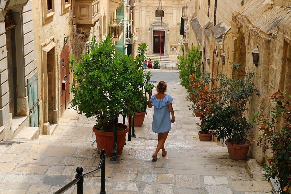 Gassen auf Malta