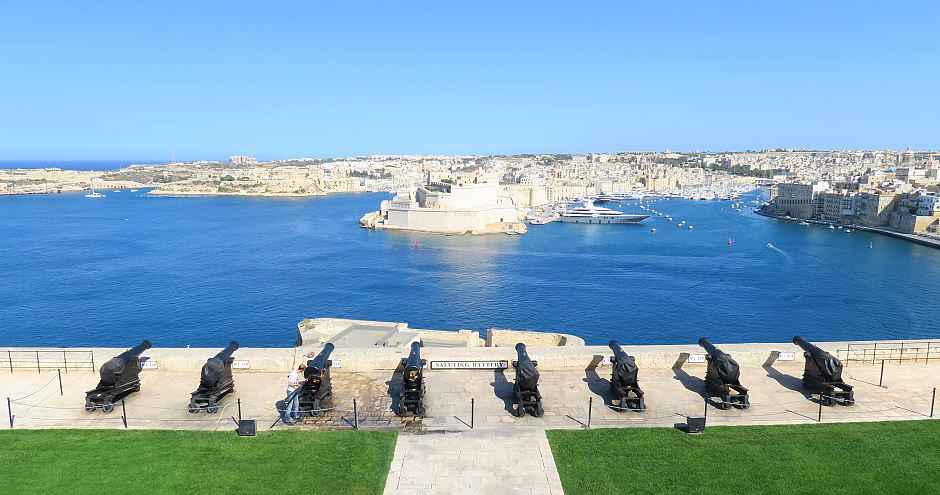 Saluting Battery Malta