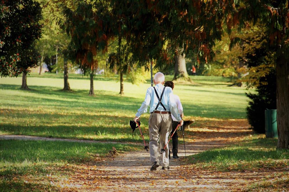 Nordic walking con il dottor Vito Lavanga dopo Artrodesi lombare