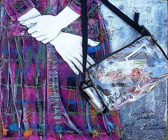 Bild Frrau mit Handtasche