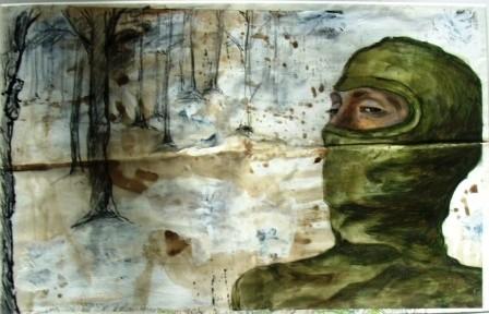 Bild Mann mit Sturmmaske