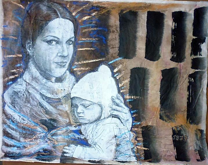 Bild Mutter mit Kleinkind