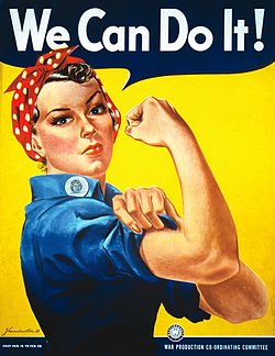 "J. Howard Miller's ""We Can Do It!"" poster from 1943"