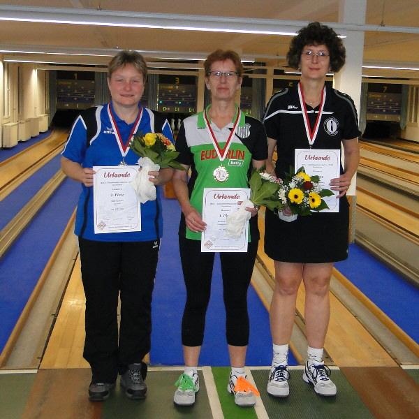 Gabi Warembourg - Dritte Meisterin bei den Damen A