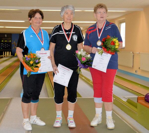 Loni Hirsch - Meisterin bei den Damen C