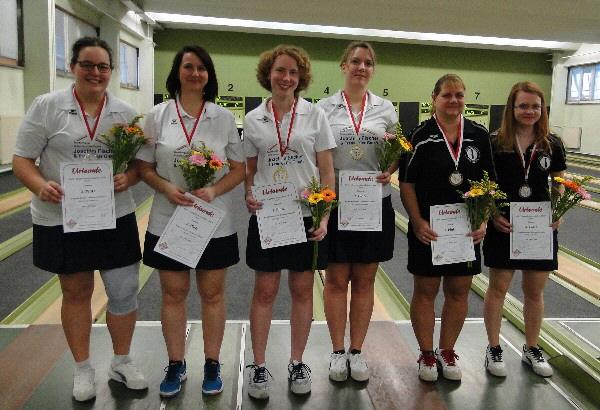 Chantal & Ingrid Cassube - Dritter Meister im Damendoppel