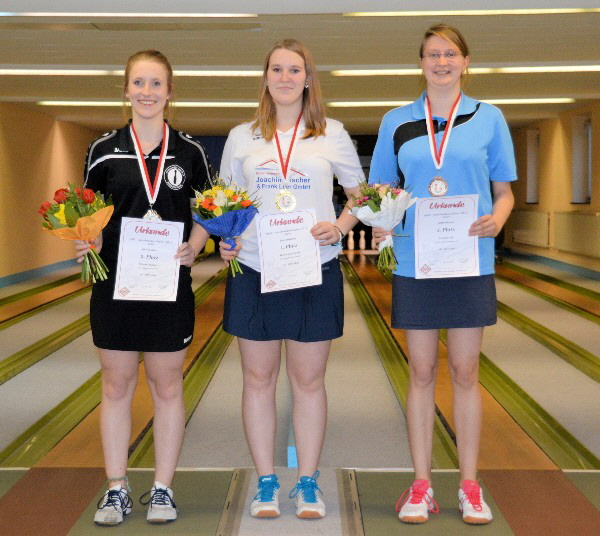 Claudia Raddatz - Vizemeisterin bei den Juniorinnen (U23)
