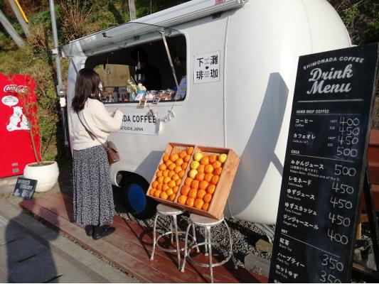 愛媛県伊予市双海町の下灘珈琲(シモナダコーヒー)の写真画像