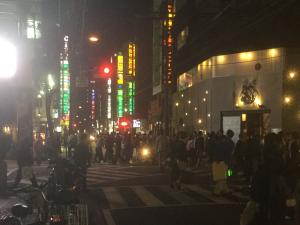 松山市・繁華街八坂通写真画像