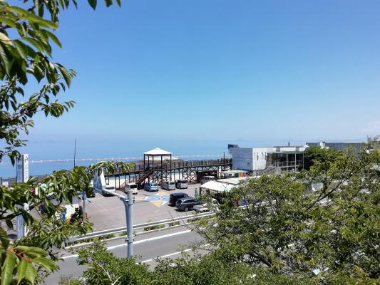 伊予市双海町・ふたみシーサイド公園、恋人の聖地写真画像