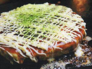 海鮮お好み ひょうたん島  (カイセンオコノミ ヒョウタンジマ) のお好み焼き