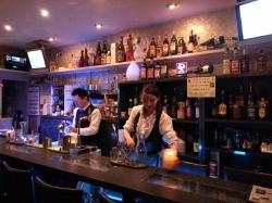 Bar explora (エクスポーラ)カウンター