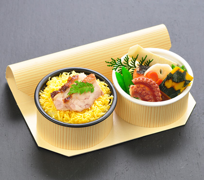 創壽庵やまのべ 全日空様松山発便のANAプレミアムクラスお弁当箱「Premium GOZEN」