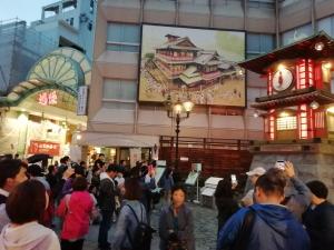 松山市・坊っちゃんカラクリ時計写真画像