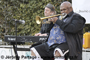 Ted Curson, Tom McClung @ Jardin Folie-Titon, Paris (2009)