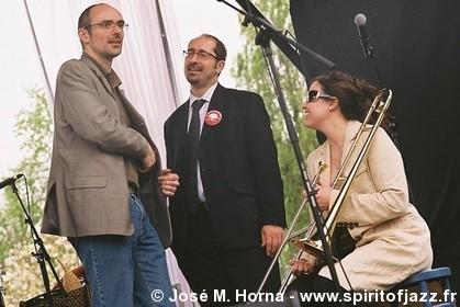 Jérôme Partage, Jean Szlamowicz et Sarah Morrow, Paris (2009)