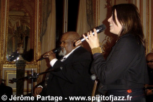Ted Curson, Sarah Morrow @ US Embassy, Paris (2008)