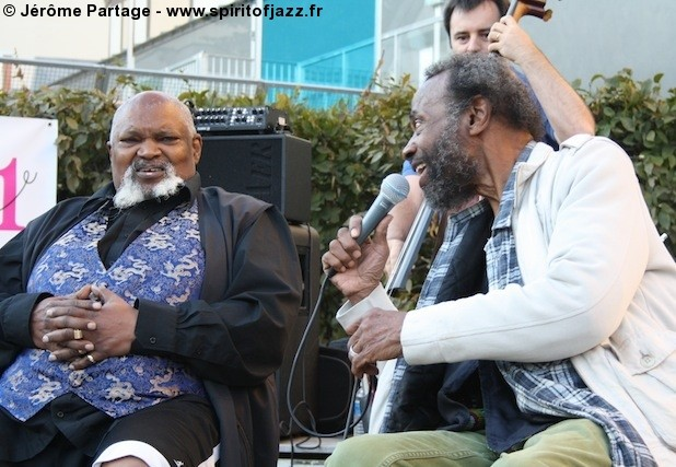 Joe Lee Wilson & Ted Curson @ Jardin Folie-Titon, Paris (2009)