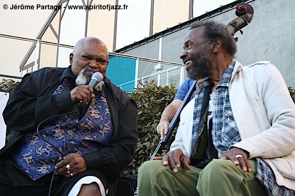 Ted Curson, Joe Lee Wilson @ Jardin Folie-Titon, Paris (2009)