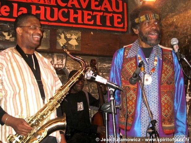 Joe Lee Wilson & SOLE @ Caveau de la Huchette, Paris (2009)