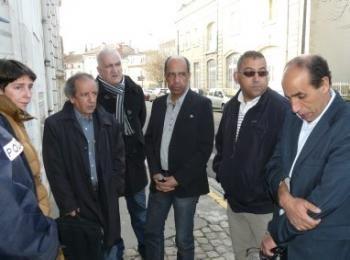 Délégation CNLH chez le Ministre Kader ARIF à PARIS