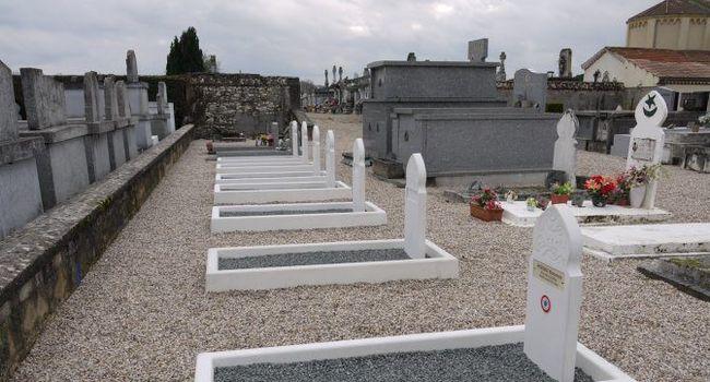 Au total, quinze tombes «oubliées» de harkis ont été réhabilitées./ Photo DDM, Lucien Mercier