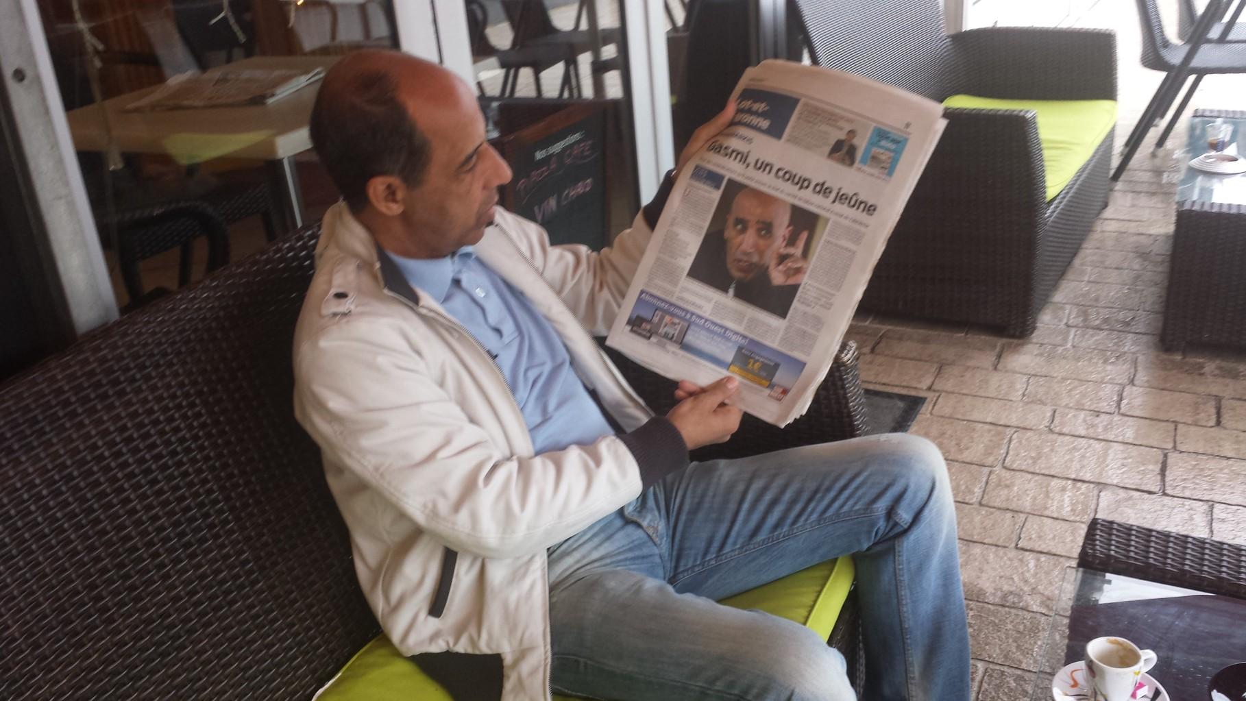 BOAZA GASMI TRÈS MÉDIATISÉ SUITE À SA GRÈVE DE LA FAIM POUR LA RECONNAISSANCE