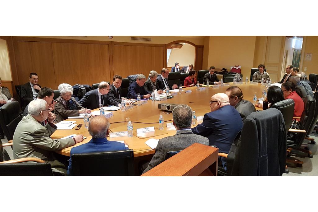 Mardi 23 janvier 2018 : installation officielle du Groupe de Travail Harkis. (Photos SE Armées)