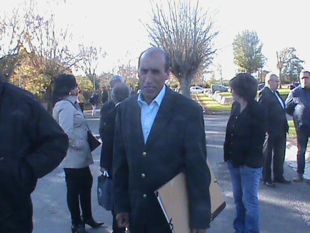 Boaza GASMI à BIAS, le 30 octobre 2017.