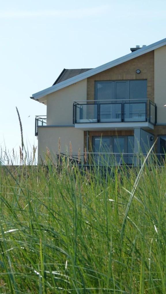 Haus der Ferienwohnung Arkonablick mit Dachterrasse (unten)