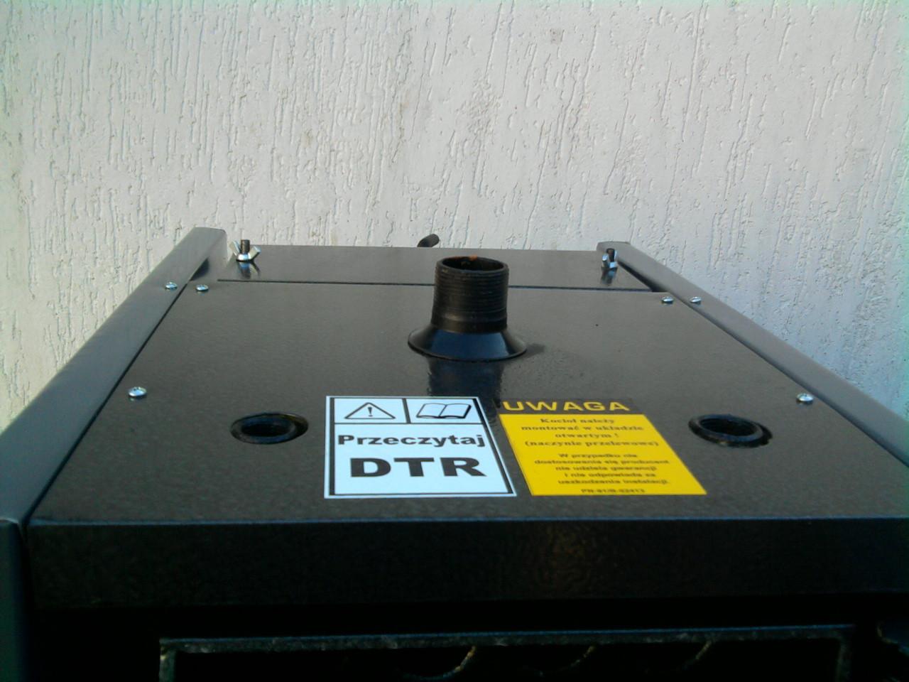 KUS-I zwymiennikiem płomieniówkowym (wyjścia kotła)