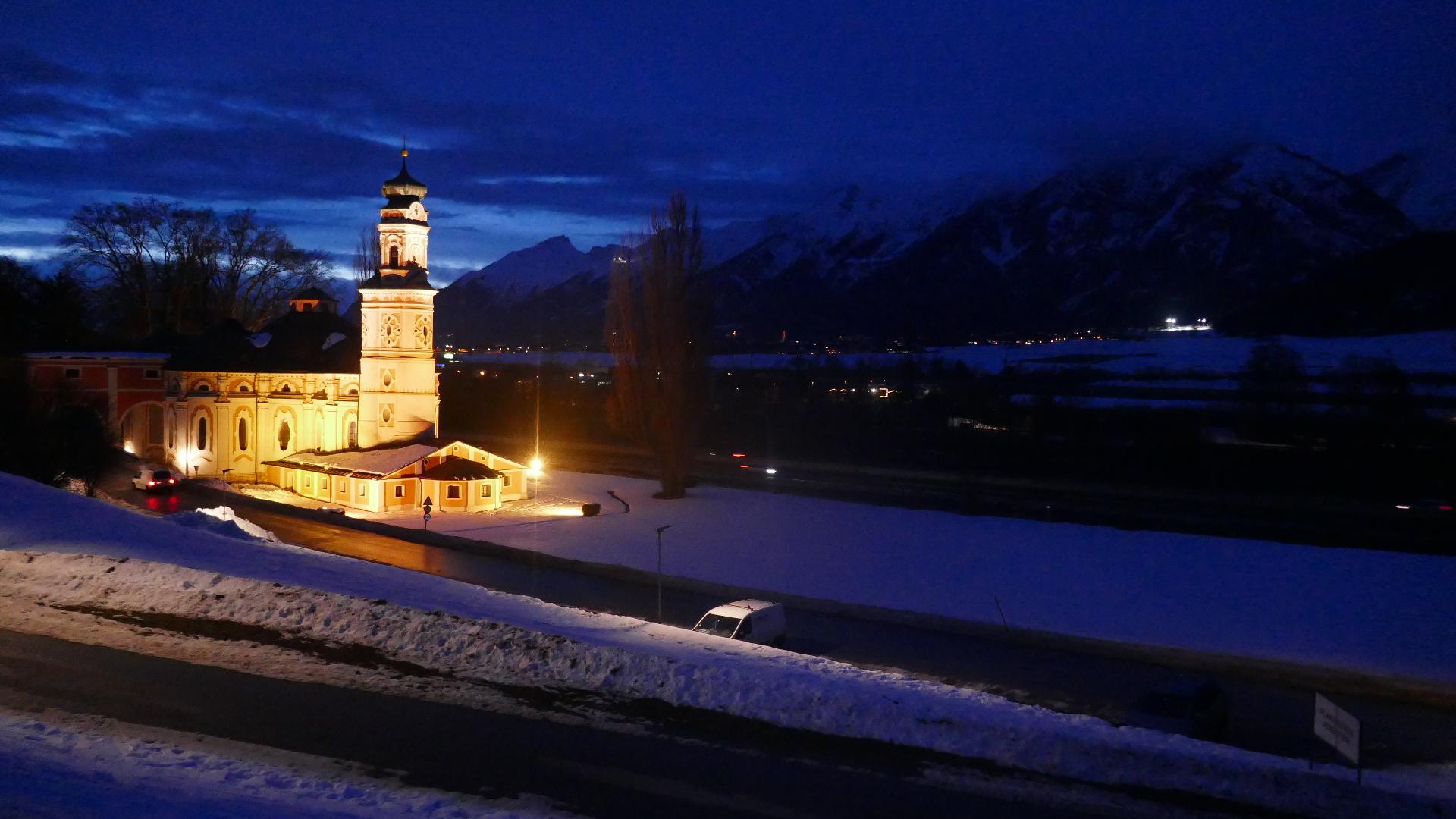 #Kurzbericht: Skitour Glungezer von Karlskirche Volders