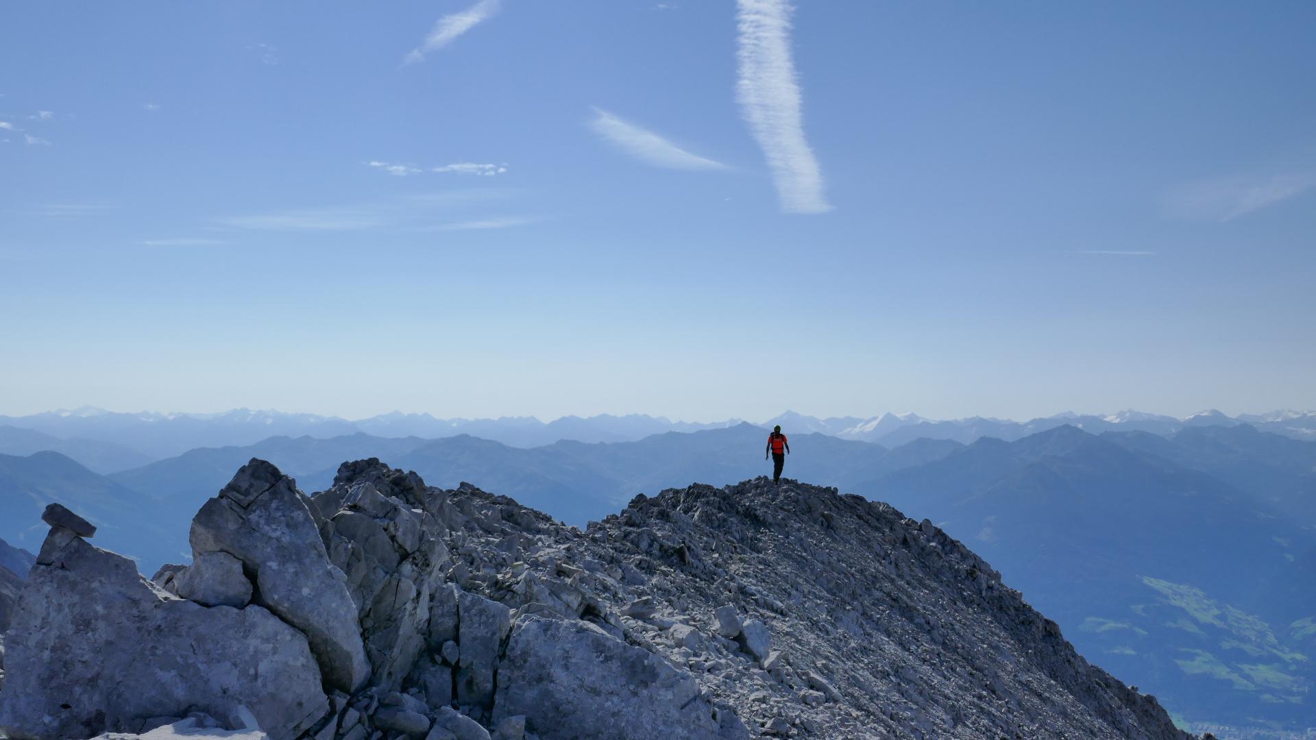 #742 Eiskarlspitze & Spritzkarspitze