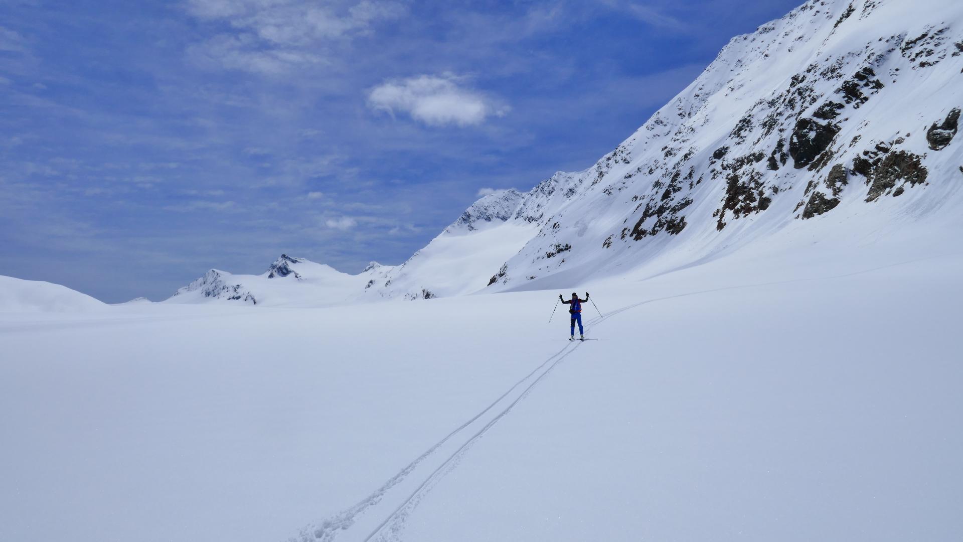 #830 Skitour Schalfkogel