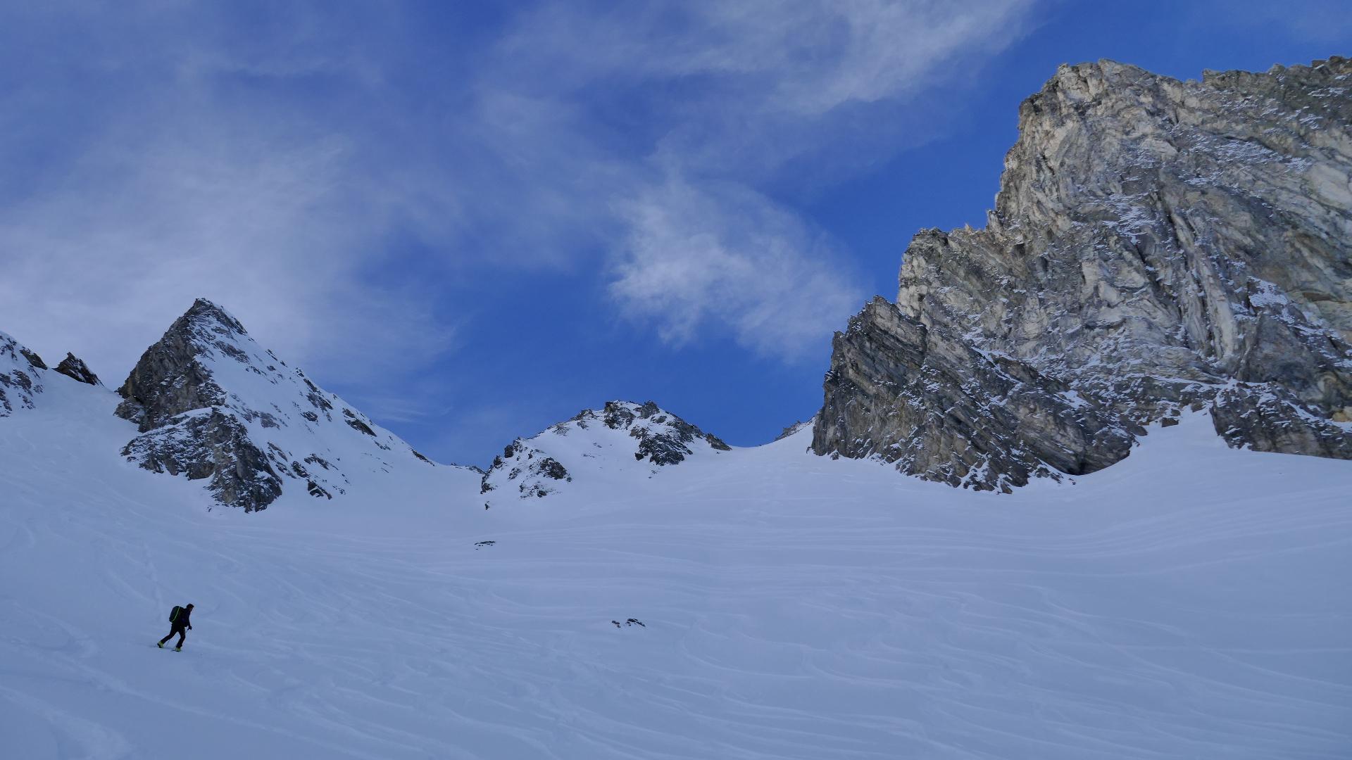 #745 Skitour Kleegrubenscharte