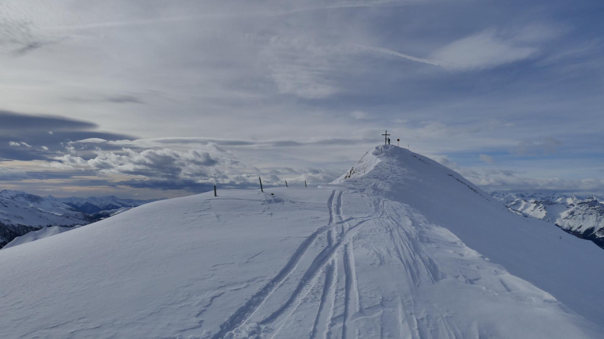 #Kurzbericht: Skitour Naviser Kreuzjöchl