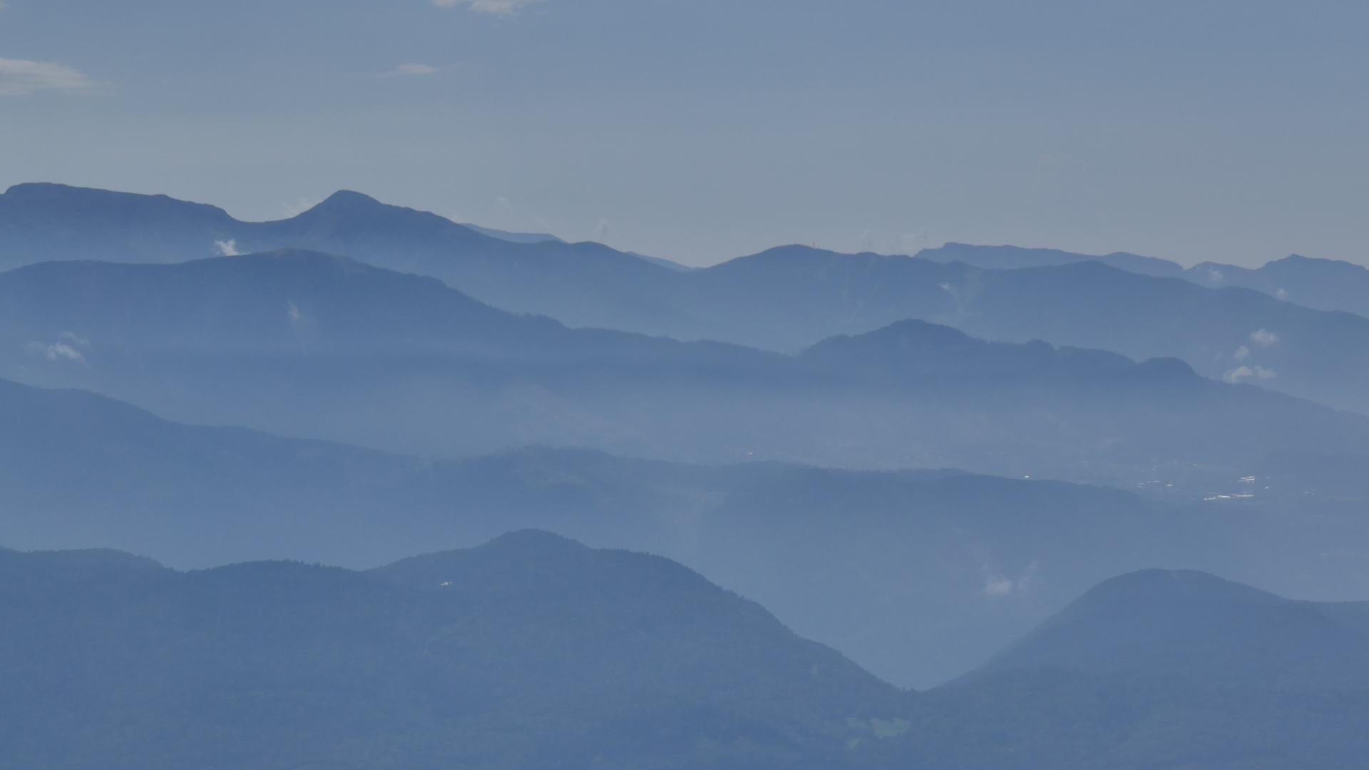 Höhenzüge der Fleimstaler Alpen