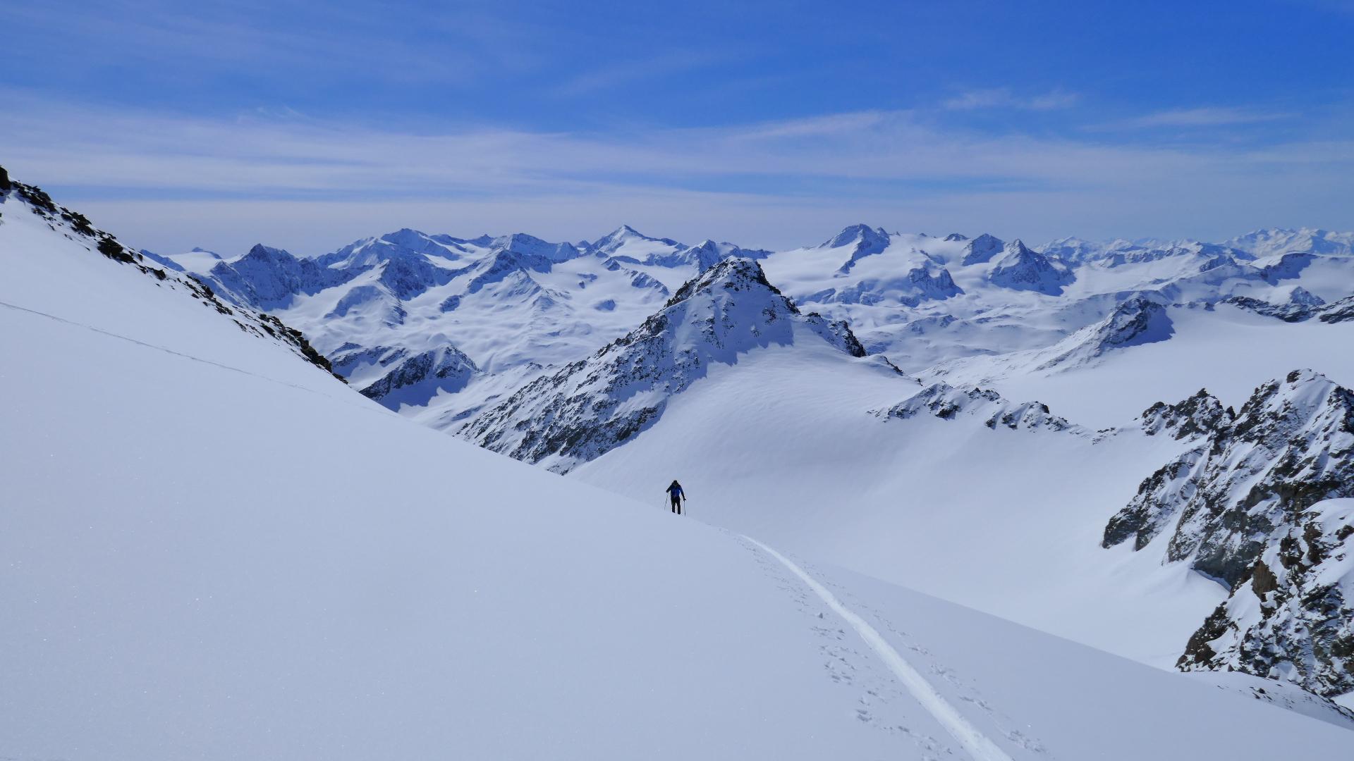 #820 Skitour Fluchtkogel