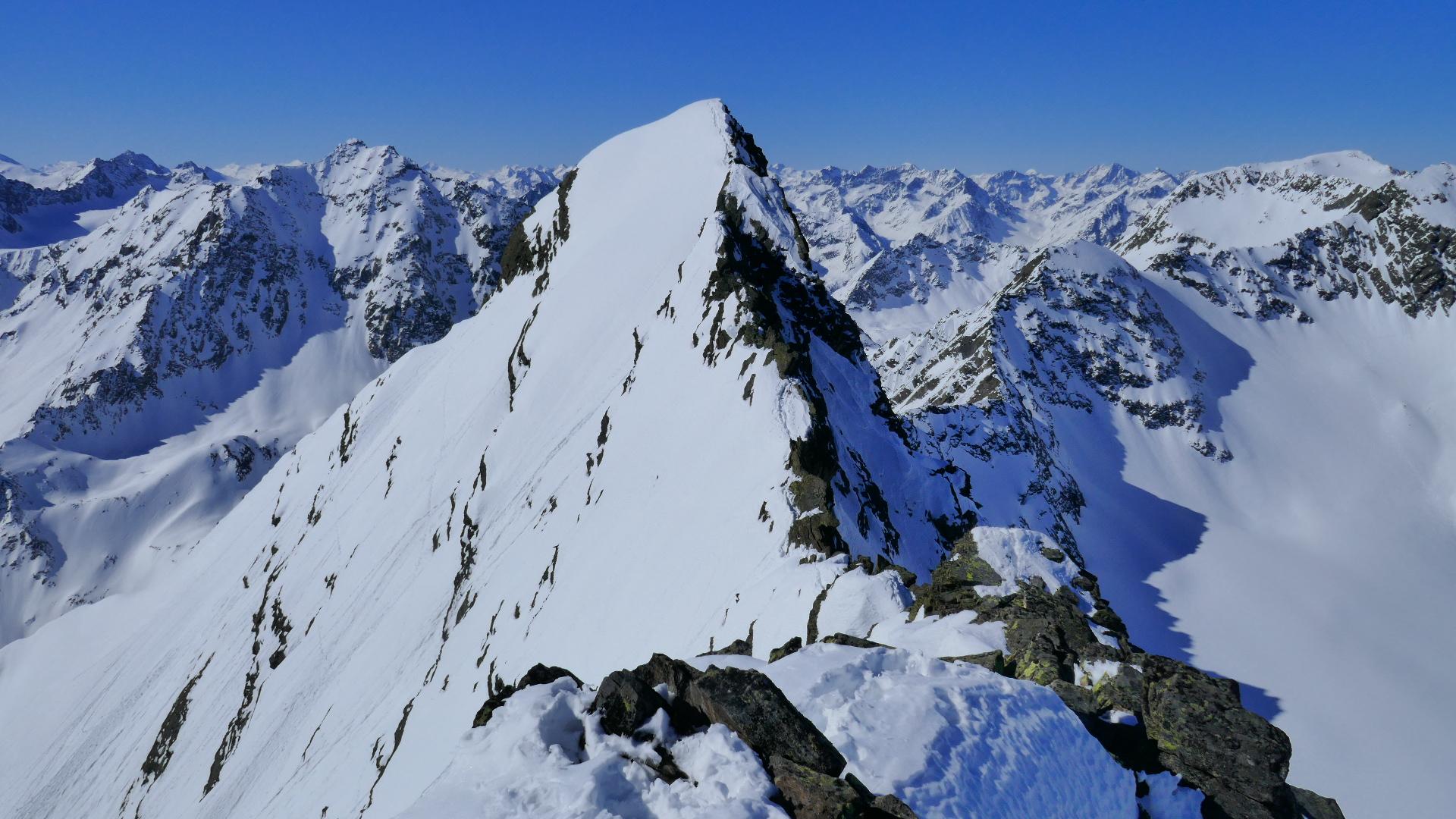 #805 Skitour Vordere Grubenwand & Schöntalspitze