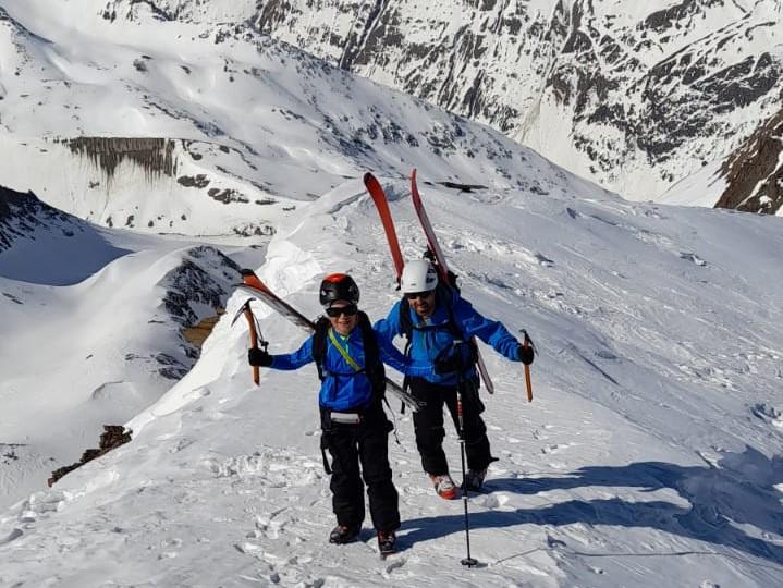 #794 Skitour Hinterer Spiegelkogel