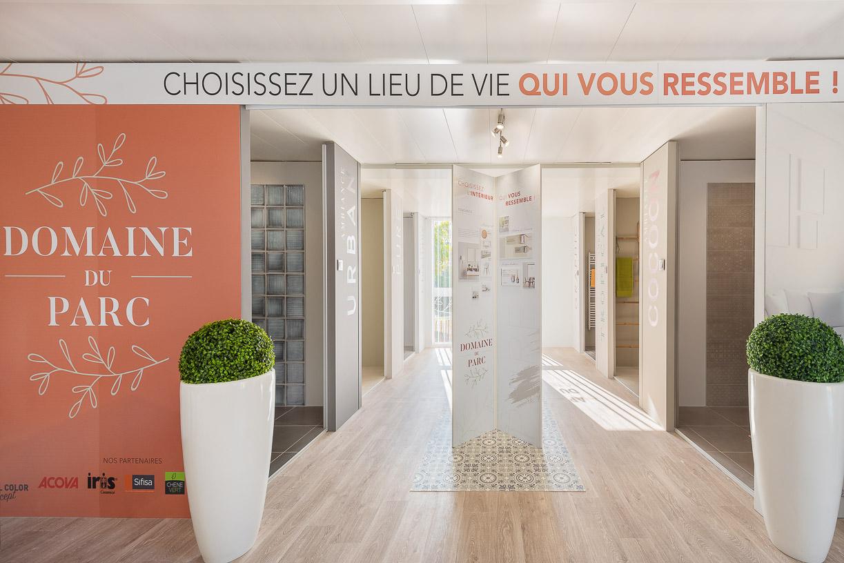 """Bulle de vente du """"Domaine du Parc à Montpellier par ROXIM"""