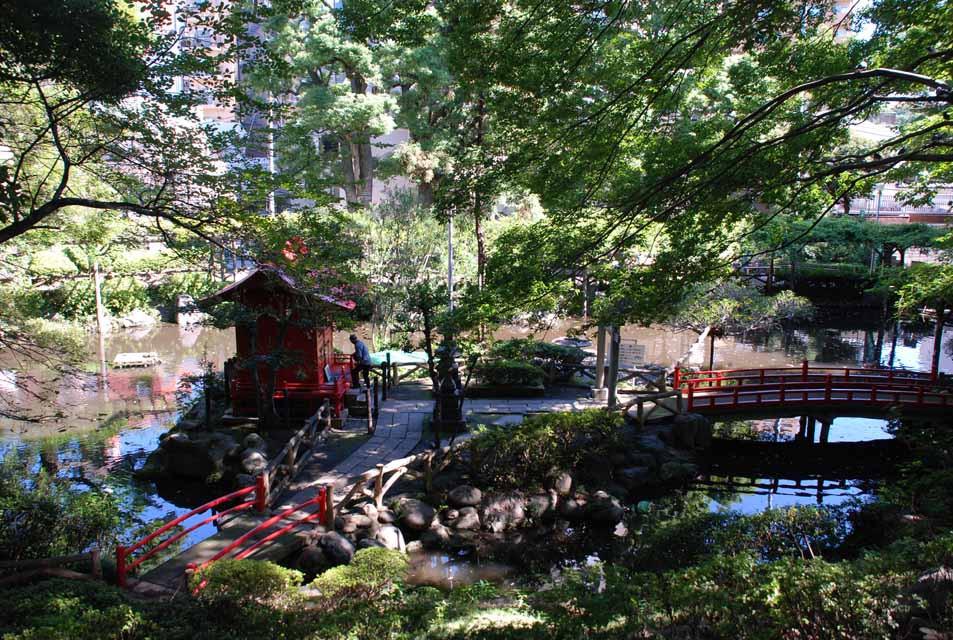街なかにひっそりと残る大名庭園(須藤公園)[文京区]