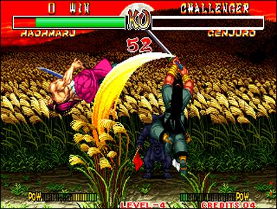 Samurai Spirits est une saga incontournable sur Neo Geo.