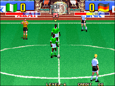 Fans of arcade soccer games will be in heaven with Super Sidekicks.