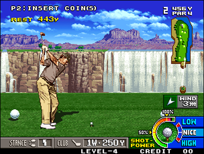 A game of golf that outclasses the competition!