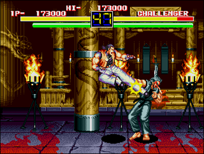 La 16 bits de Sega fait ce qu'elle peut, mais ce n'est pas trop mal.