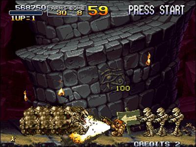 Le Shotgun peut pulvériser plusieurs ennemis à la fois.